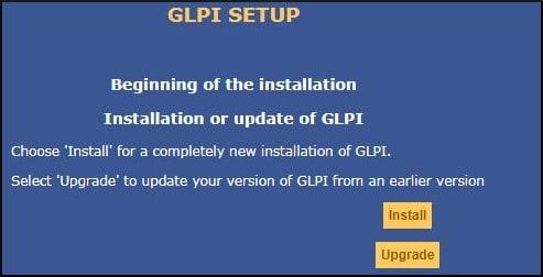 GLPI Installation