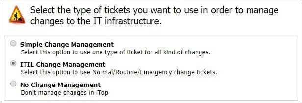 Itil change management