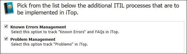 Itop Itil known error problem management